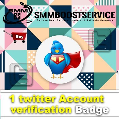 Buy twitter Account Badge verification