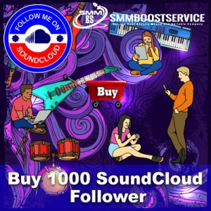 Buy SoundCloud Followers promotion