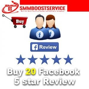 Buy Facebook 5 Star Ratings Reviews
