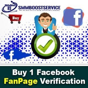 Buy Facebook FanPage Verification