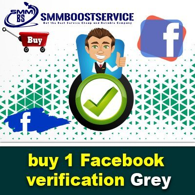 Buy Facebook verification Grey